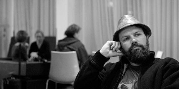 Kieran (Festival Director) contemplating it all